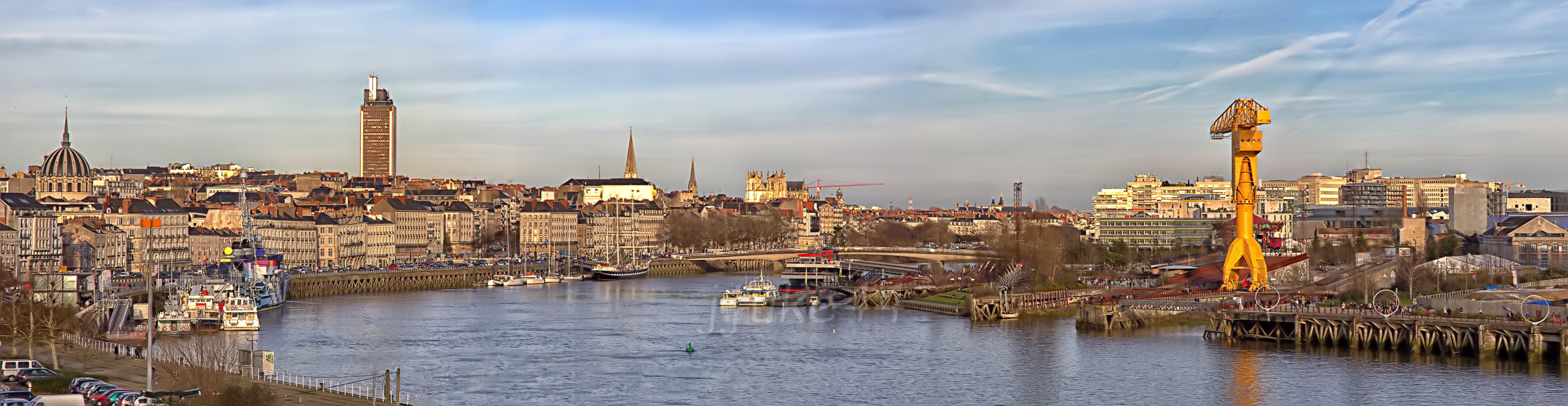 Panorama Nantes